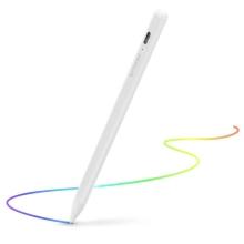 Dotykové pero / stylus BLITZWOLF - aktivní provedení + pouzdro + 2x hrot - bílé