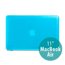 Tenký ochranný plastový obal pro Apple MacBook Air 11.6 - lesklý - světle modrý