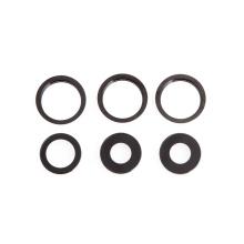 Krycí sklíčka zadní kamery Apple iPhone 11 Pro / 11 Pro Max - sada 3ks - šedá (Space Gray) - kvalita A+