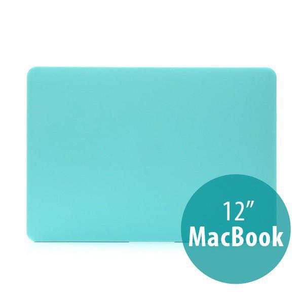 Tenký plastový obal / kryt pro Apple MacBook 12 Retina (rok 2015) - matný - zelený