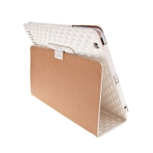 Ochranné pouzdro pro Apple iPad 2 texturované – bílé