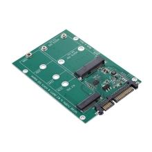 Redukce / čtečka SSD disků M.2 NGFF a mSATA na SATA 22 (7+15) pin pro Apple zařízení
