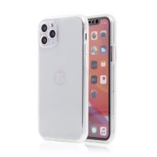 Kryt FORCELL pro Apple iPhone 11 Pro Max - 360° ochrana - plastový / gumový - průhledný