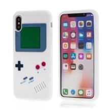 Kryt pro Apple iPhone X - silikonový - Game boy
