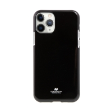 Kryt MERCURY Jelly pro Apple iPhone 11 Pro - gumový - lesklý - černý