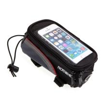 Sportovní pouzdro na kolo ROSWHEEL pro Apple iPhone 4 / 4S 5 / 5C / 5S / SE - černé / červené