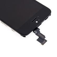 LCD panel + dotykové sklo (touch screen digitizér) pro Apple iPhone 5C - černý