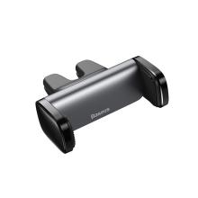 Držák do auta BASEUS - na ventilační mřížku - dvojité uchycení - černý