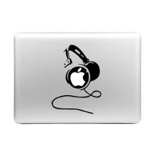 Samolepka ENKAY Hat-Prince na Apple MacBook - sluchátka DJ