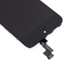 LCD panel + dotykové sklo (touch screen digitizér) pro Apple iPhone 5S / SE - bílý