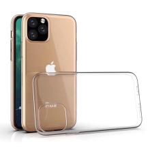 Kryt pro Apple iPhone XI Max - gumový - průhledný