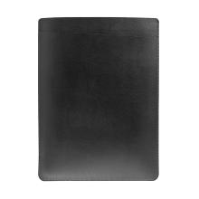 """Pouzdro / obal SOYAN pro Apple Macbook Air 13"""" / Pro 13"""" - s kapsou - umělá kůže - černé"""
