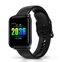 Fitness chytré hodinky BLITZWOLF BW-HL1 - tlakoměr / krokoměr / měřič tepu - Bluetooth - voděodolné - černé