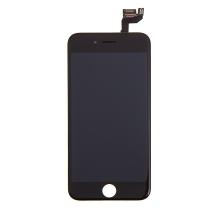 LCD panel + dotykové sklo (touch screen digitizér) pro Apple iPhone 6S - osazený černý - kvalita A