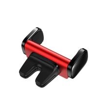 Držák do auta BASEUS - na ventilační mřížku - dvojité uchycení - červený
