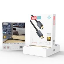 Kabel XO HDMI-HDMI propojovací - podpora 8K - černý