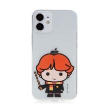 Kryt Harry Potter pro Apple iPhone 12 mini - gumový - Ron Weasley - průhledný