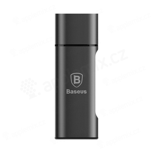 Adaptér / HUB rozbočovač BASEUS Sharp Series USB-C / USB 3.0 - šedý