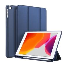 """Pouzdro / kryt DUX DUCIS pro Apple iPad 10,2"""" (2019) - funkce chytrého uspání + stojánek - modré"""