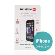 Tvrzené sklo (Tempered Glass) SWISSTEN pro Apple iPhone 6 Plus / 6S Plus - na přední část - odolné - 0,3mm