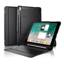 "Klávesnice Bluetooth + kryt / pouzdro pro Apple iPad Air 1 / 2 / 9,7"" (2017-18) / Pro (1.gen) + držák na Pencil"