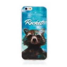 Kryt MARVEL pro Apple iPhone 6 / 6S - Strážci Galaxie - Rocket - gumový