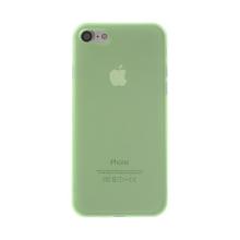 Kryt / obal pro Apple iPhone 7 / 8 - ochrana čočky - ultratenký - plastový - matný - zelený