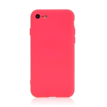 Kryt pro Apple iPhone 7 / 8 / SE (2020) - silikonový - růžový