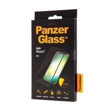 Tvrzené sklo (Tempered Glass) PANZERGLASS pro Apple iPhone Xr - 3D hrana - černé - 0,4mm