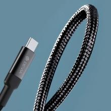 Synchronizační a nabíjecí kabel USB-C / USB-C DEVIA - 100W - 1,5m - černý