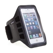 Sportovní pouzdro pro Apple iPhone 5 / 5S / SE - černo-šedé