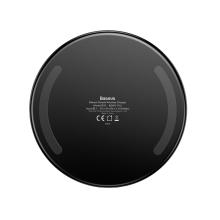 Bezdrátová nabíječka / nabíjecí podložka Qi BASEUS - kov / sklo