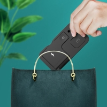 4v1 nabíjecí stanice Qi KUULAA pro Apple iPhone + AirPods + Watch + Pencil - skládací - černá