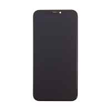 OLED panel + dotykové sklo (touch screen digitizér) pro Apple iPhone X - černý - kvalita A+