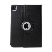 """Pouzdro pro Apple iPad Pro 11"""" (2018 / 2020) / Air 4 - 360° otočný - stojánek - černé"""