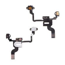 Flex kabel s mikrospínačem power, SMD mikrofonem a proximity senzorem pro Apple iPhone 4 - kvalita A