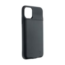 Externí baterie / kryt pro Apple iPhone 11 Pro Max - 4500 mAh - matná - černá