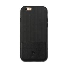 Kryt DZGOGO pro Apple iPhone 6 / 6S - plast / umělá kůže - černý