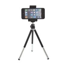 Univerzální stativ - stojánek s držákem a výsuvnými nohami pro Apple iPhone a další mobilní telefony do šíře 7 cm