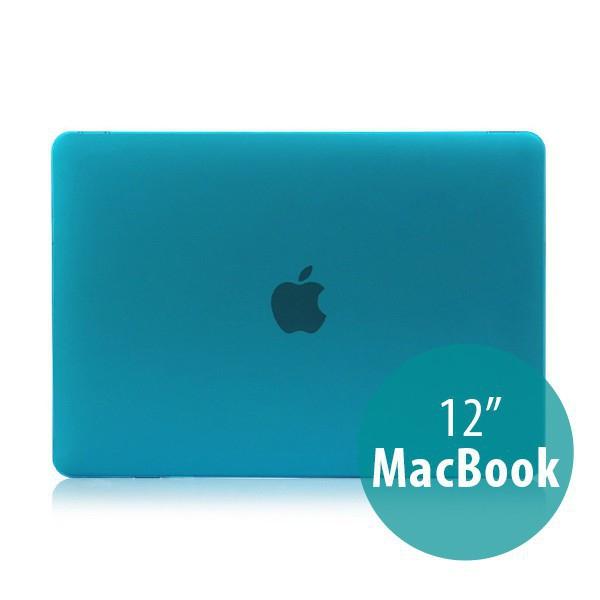 Tenký plastový obal / kryt pro Apple MacBook 12 Retina (rok 2015) - matný - modrý