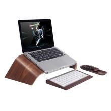 Stojan / podstavec SAMDI pro Apple MacBook - dřevěný tmavý