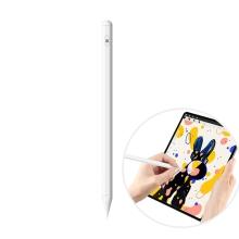 Dotykové pero / stylus - aktivní provedení - nabíjecí - silikonový hrot - bílé