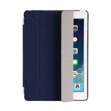Pouzdro / kryt pro Apple iPad 9,7 (2017-2018) - odnímatelný Smart Cover - stojánek - plastové - tmavě modré