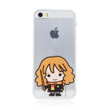 Kryt Harry Potter pro Apple iPhone - gumový - Hermiona - průhledný