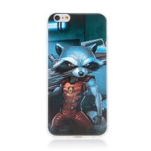 Kryt MARVEL pro Apple iPhone 6 Plus / 6S Plus - Strážci Galaxie - Rocket - gumový