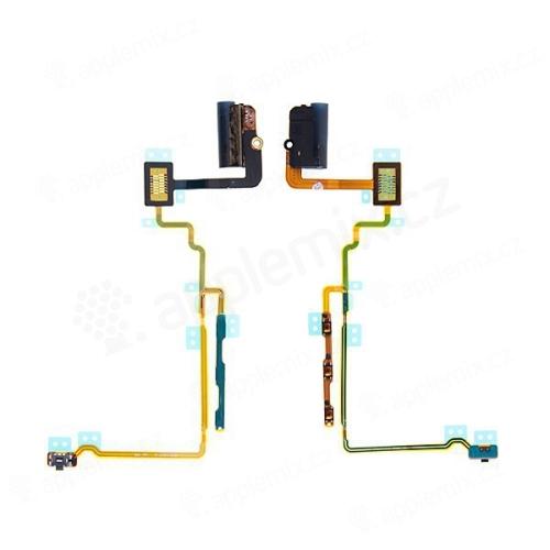 Flex kabel s audio jackem, mikrospínačem power a ovládáním hlasitosti pro Apple iPod nano 7.gen. - bílý