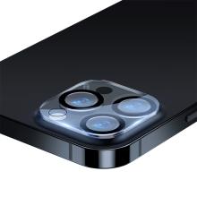 Tvrzené sklo (Tempered Glass) BASEUS pro Apple iPhone 13 Pro Max - na čočku zadní kamery - sada 2 kusů