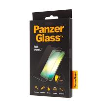 Tvrzené sklo (Tempered Glass) PANZERGLASS pro Apple iPhone Xr - ultrapevné - 0,4mm