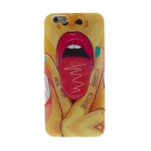 Gumový kryt pro Apple iPhone 6 / 6S - Sexy Lisa