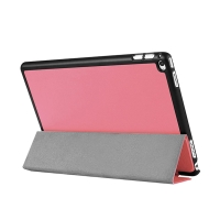 """Pouzdro / kryt pro Apple iPad Pro 12,9"""" -  integrovaný stojánek - umělá kůže - růžové"""